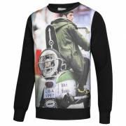 Lambretta Print Crew Herren Sweatshirt