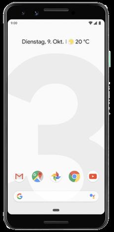 GOOGLE Pixel 3 mit Vertrag