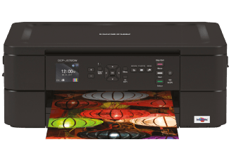 BROTHER DCP-J572DW, Multifunktionsdrucker, Schwarz