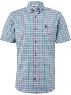 Tom Tailor Herren Kurzarm Freizeithemd