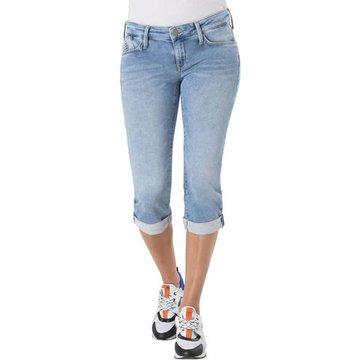 """Mavi Jeans """"Alma"""", Capri-Länge, Used-Look,"""