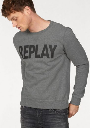 Replay Sweatshirt Markenprint