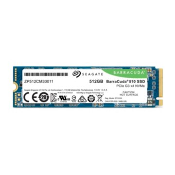Seagate BarraCuda 510 SSD 512GB