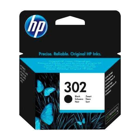 HP »302, original, F6U66AE, schwarz«