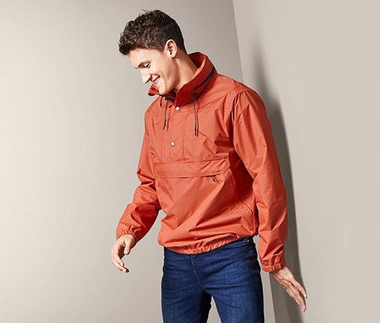 Half-Zip-Outdoorjacke