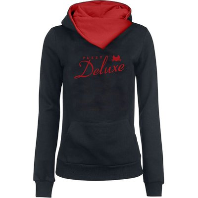 PUSSY DELUXE Logo Shawl Hoodie
