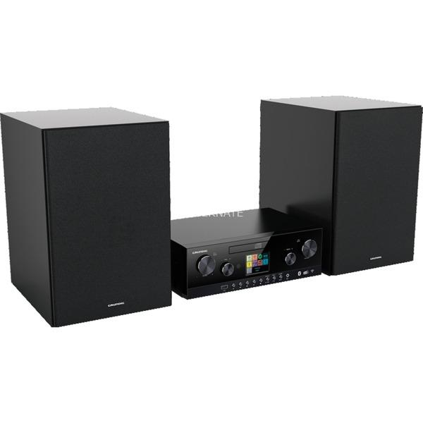 Grundig CMS 5000, Kompaktanlage (inox/schwarz,
