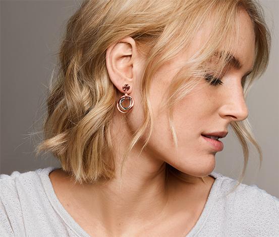 Ohrhänger, bicolor