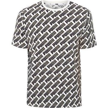 Puma T-Shirt, mit Allovermotiv, für